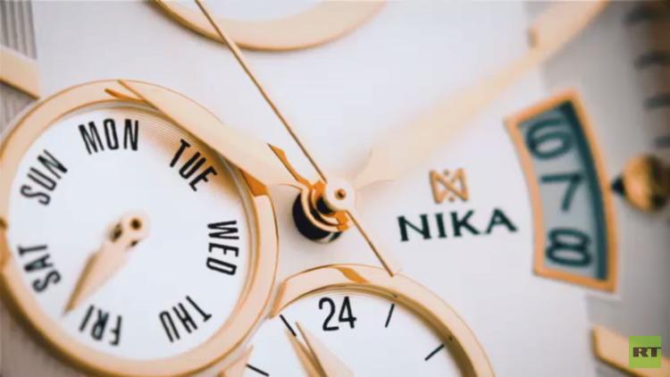 """ساعات فخمة في معمل """"NIKA"""" الروسي"""