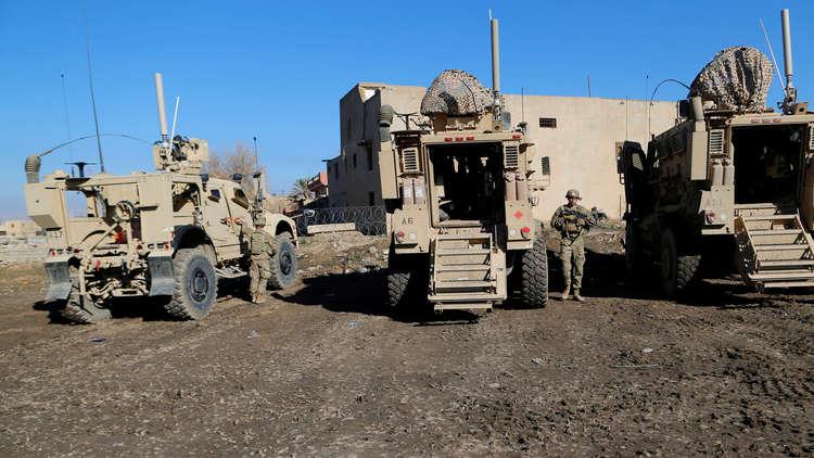 الجيش الأمريكي ينشر تعزيزات عسكرية على حدود العراق مع سوريا