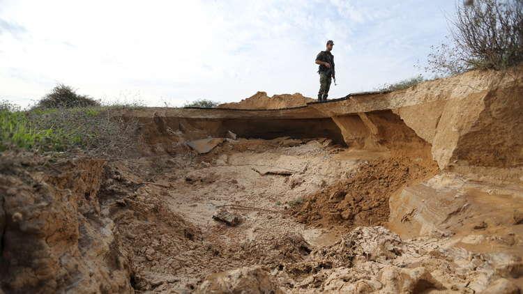 انتشال جثتي فلسطينيين من نفق جنوب قطاع غزة