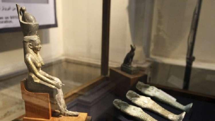 مصر تسترد تمثال أحد كبار رجالات الدولة الفرعونية من هولندا