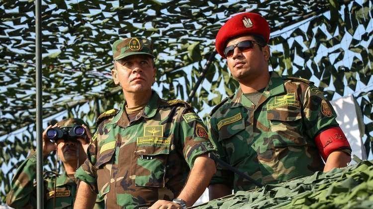 الجيش المصري ينفذ تدريبا قتاليا لمجابهة المواقف الطارئة (صور)