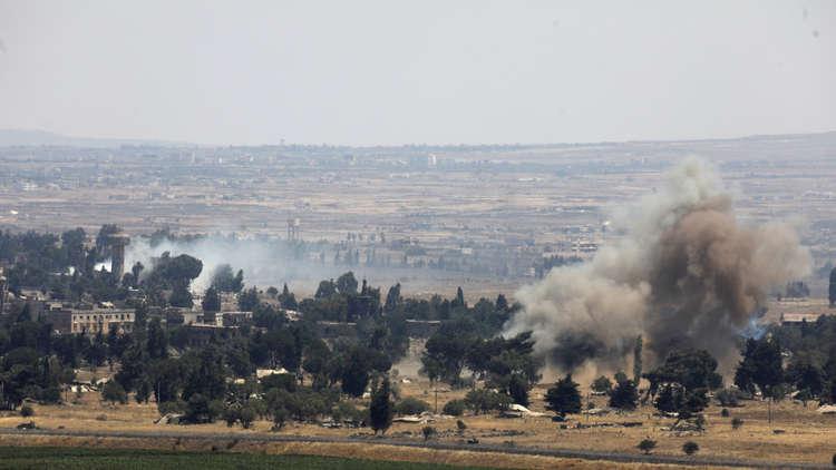 الجيش الإسرائيلي يستهدف مناطق عدة في ريف القنيطرة جنوب غرب سوريا