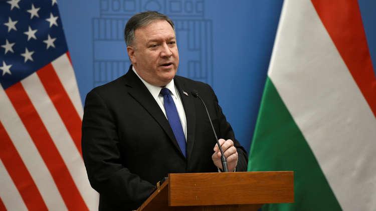 بومبيو يبحث مع رئيس وزراء هنغاريا