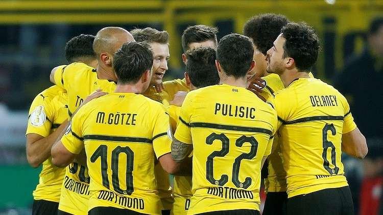 دورتموند يخسر قائده أمام توتنهام في دوري أبطال أوروبا