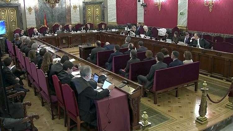 محاكمة قادة الحركة الانفصالية في كتالونيا على خلفية استفتاء 2017