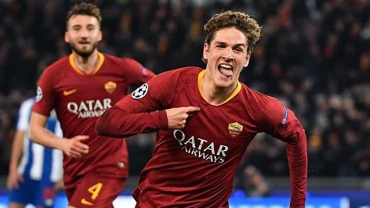 روما الإيطالي يتغلب على بورتو البرتغالي في دوري الأبطال (فيديو)