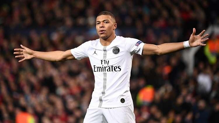 مبابي يتمنى خروج برشلونة من دوري أبطال أوروبا