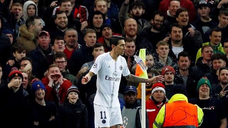 يويفا يبرئ دي ماريا ويفتح قضية تأديبية ضد مانشستر يونايتد وسان جيرمان