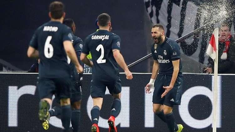 شاهد.. ريال مدريد يفوز بشق الأنفس على أياكس في دوري الأبطال
