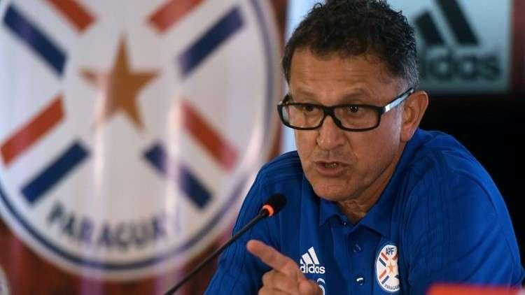 مدرب باراغواي يستقيل بعد 5 أشهر من تعيينه