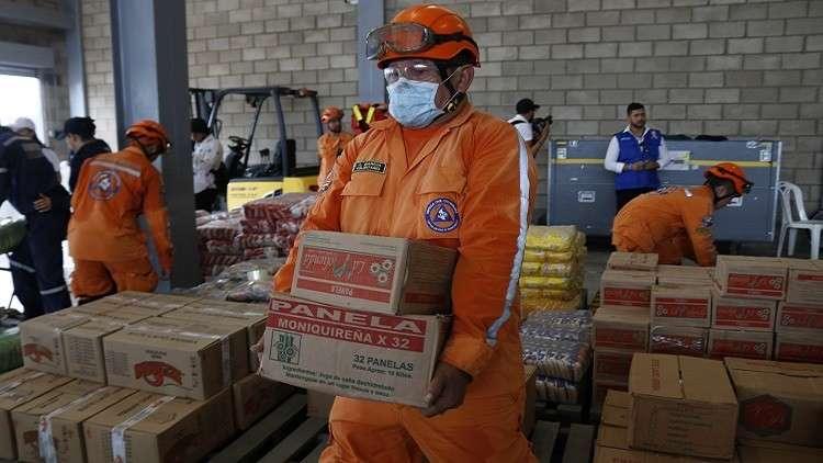 موسكو تحذر من قافلة المساعدات الأمريكية لفنزويلا