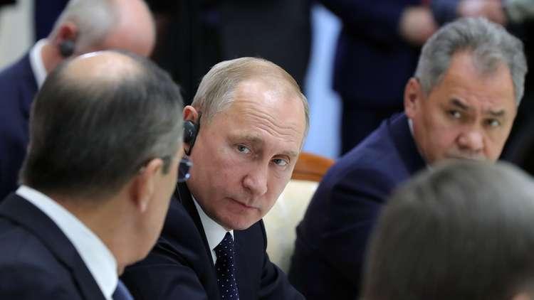 فلاديمير بوتين يشارك في قمة سوتشي الثلاثية
