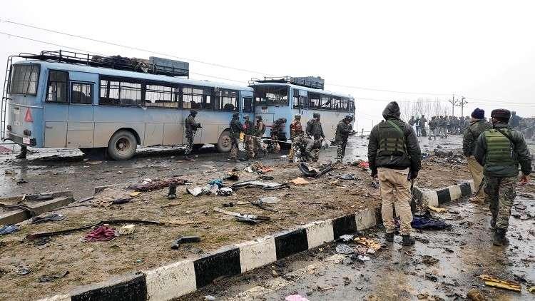 بعد هجوم أوقع 44 قتيلا في كشمير.. الهند تطالب باكستان بالتوقف عن دعم الإرهابيين