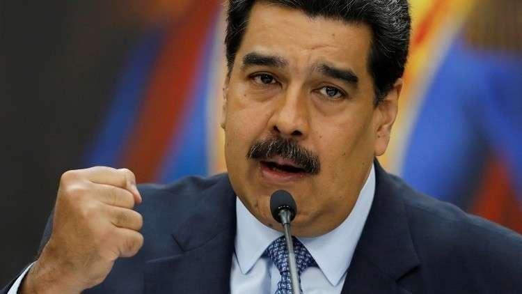 مادورو ينعت غوايدو بالعمالة للصهاينة