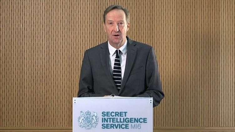 مدير المخابرات البريطانية أليكس يانغر