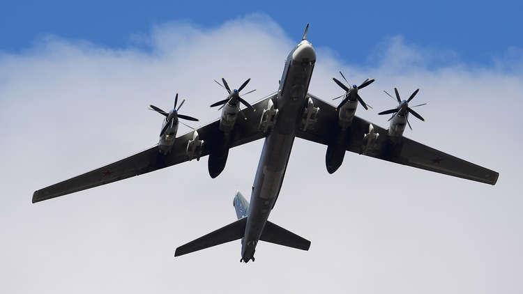 مقاتلات يابانية ترافق قاذفة استراتيجية روسية