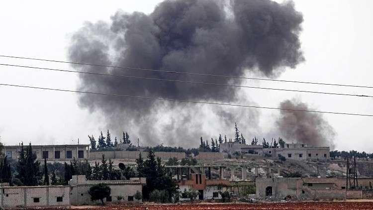 مراسلنا: إصابات بصواريخ أطلقها مسلحون على السقيلبية وسط سوريا