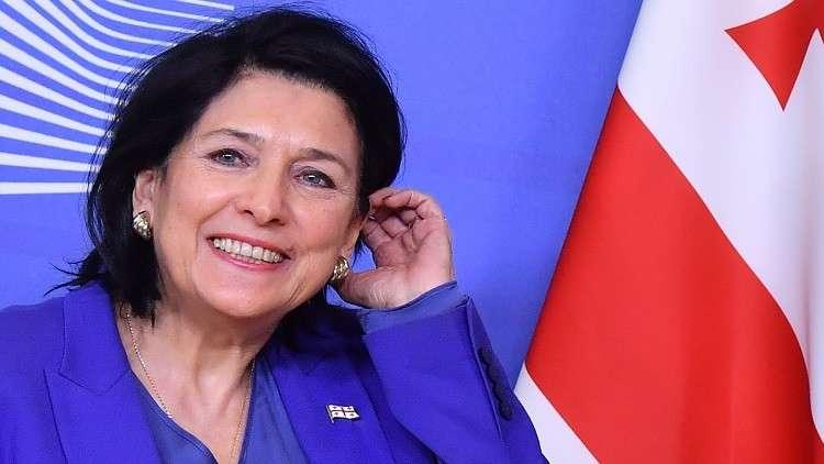 رئيسة جورجيا الجديدة سالوميه زورابيشفيلي