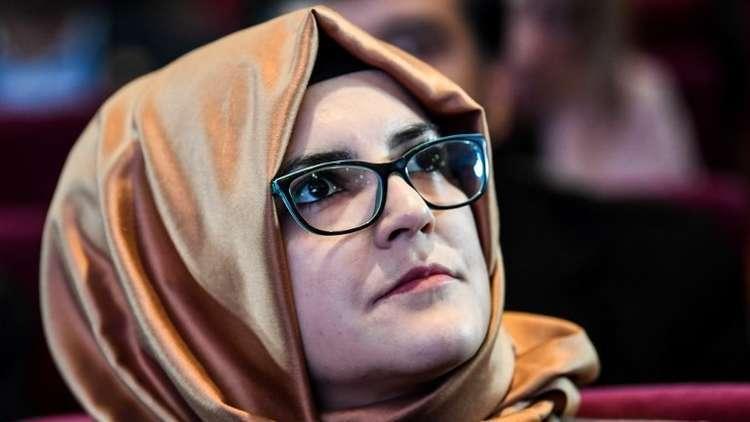 خطيبة خاشقجي تدعو البرلمان الأوروبي لفرض عقوبات على السعودية