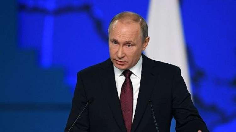 بوتين يدعو لثورة بيئية وتعامل علمي وحديث مع تدوير النفايات