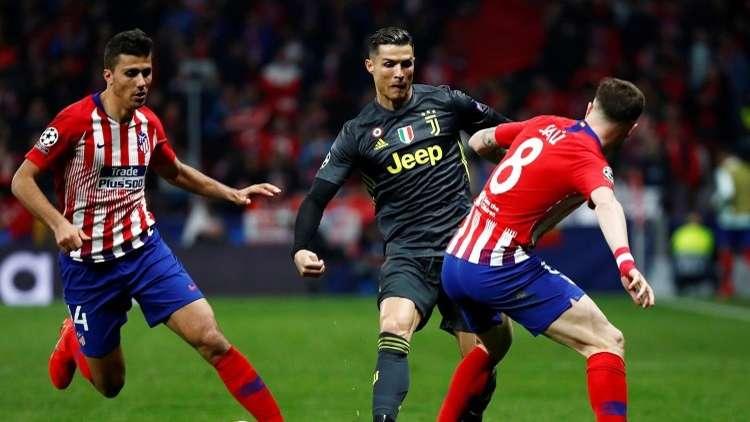 أتلتيكو مدريد يقهر يوفنتوس بثنائية ويضع قدما في دور الثمانية لدوري الأبطال