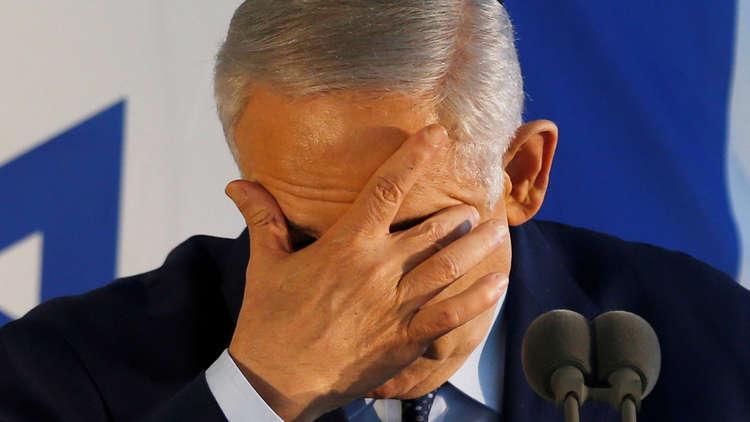 نتنياهو القلق من تصاعد شعبية تحالف بقيادة خصمه غانتس يلجأ لليمين المتطرف