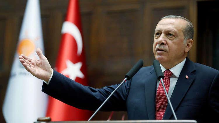 أردوغان: خطوات تركيا في سوريا والعراق أثارت انزعاج من لديهم حسابات قذرة تجاه المنطقة