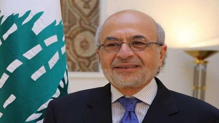وزير التربية والتعليم العالي اللبناني أكرم شهيب