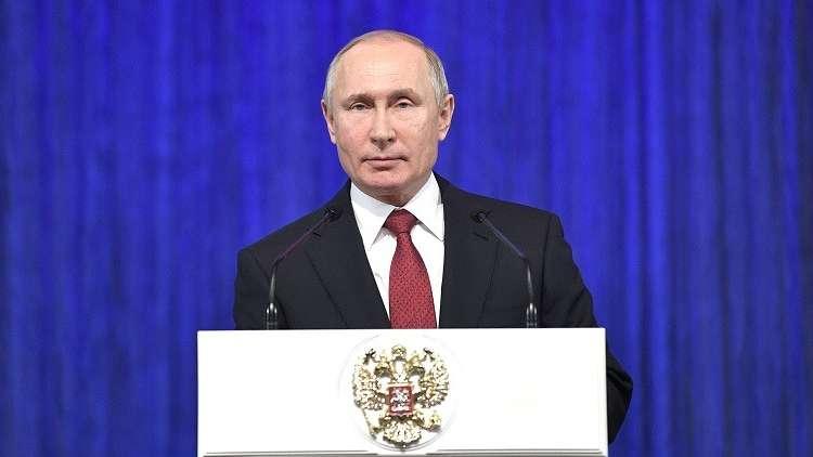 بوتين: روسيا دولة محبة للسلام لكنها ستعزز قدراتها الدفاعية حرصا على أمنها