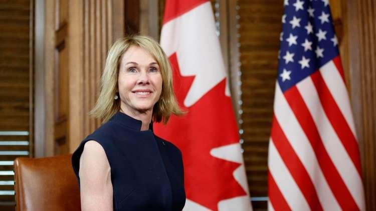 أرشيف - سفيرة الولايات المتحدة لدى كندا، كيلي كرافت 3 نوفمبر 2017