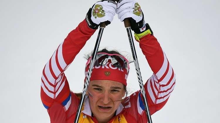 نيبريايفا تمنح روسيا ميدالية برونزية في بطولة العالم للتزلج