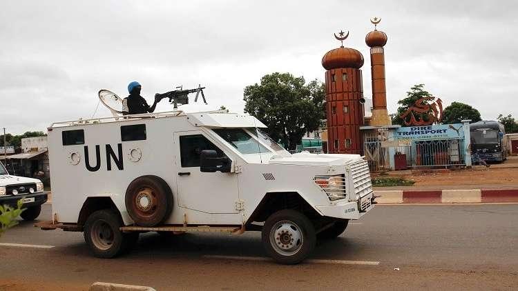عنصر من قوات حفظ السلام في مالي - أرشيف -