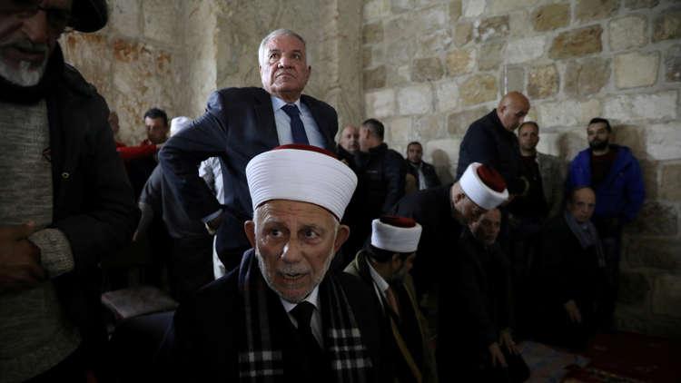 رئيس مجلس الأوقاف والشؤون والمقدسات الاسلامية في القدس الشيخ عبد العظيم سلهب