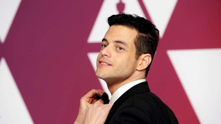 الممثل الأمريكي من أصل مصري/ رامي مالك - أوسكار أفضل ممثل عن دوره في فيلم Bohemian Rhapsody