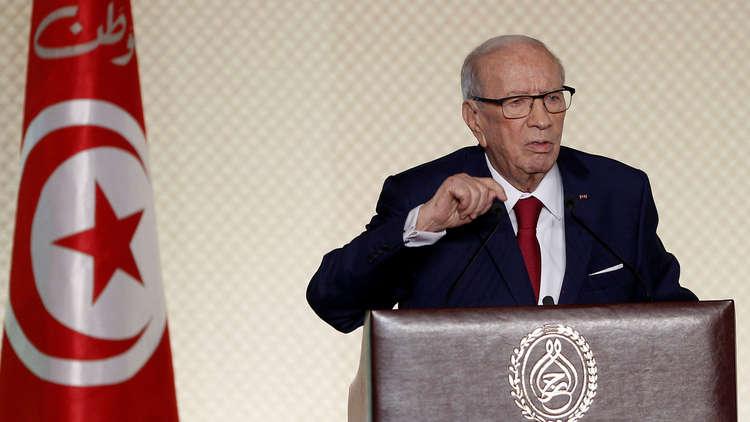 الرئيس التونسي الباجي قايد السبسي - أرشيف