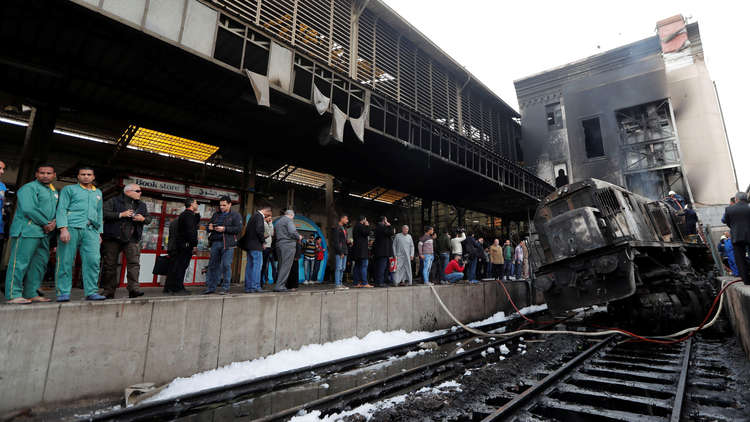 هيئة السكك الحديدية المصرية تكشف عن سبب الانفجار في محطة القطارات