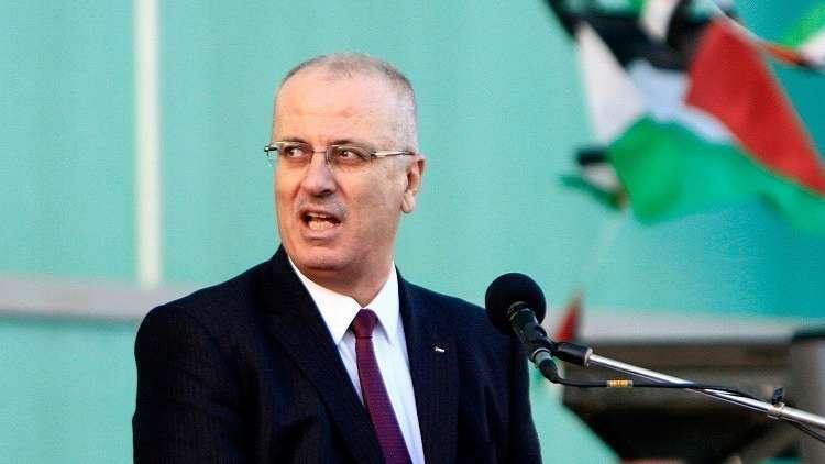 رئيس الوزراء رامي الحمد الله
