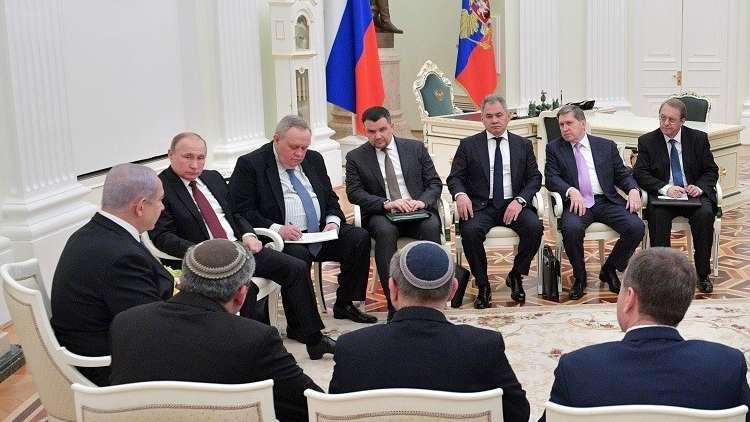 مصدر حكومي إسرائيلي: تجاوزنا الأزمة مع روسيا والعمل ضد العدوان الإيراني مستمر