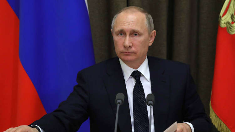 بوتين: توجد خطة لإنشاء مجموعة دولية خاصة بـ