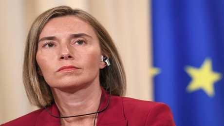 مفوضة السياسة الخارجية في الاتحاد الأوروبي فيدريكا موغيريني