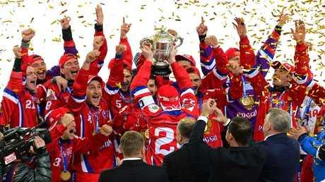 روسيا تتوّج بكأس العالم للهوكي بالكرة للمرة الـ12 في تاريخها