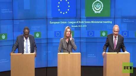 بروكسل: الحل السياسي شرط للتطبيع مع دمشق