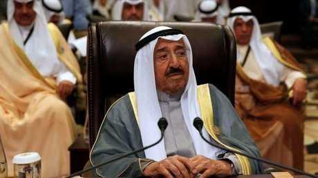أمير دولة الكويت صباح الأحمد الجابر الصباح