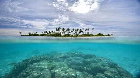 جزيرة غامضة ظهرت