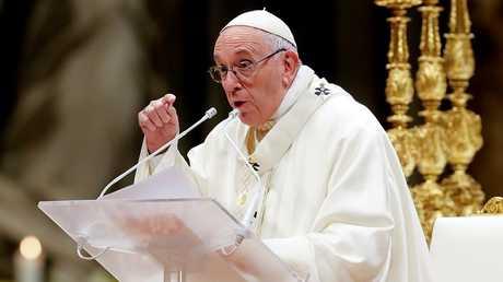 بابا الفاتيكان البابا فرنسيس