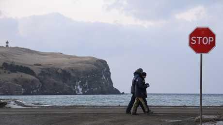 أرشيف  - جزيرة شيكوتان إحدى جزر الكوريل