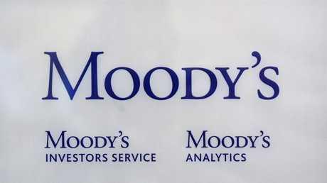 شعار وكالة التصنيف الائتماني موديز