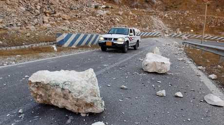 زلزال في إيران - أرشيف -