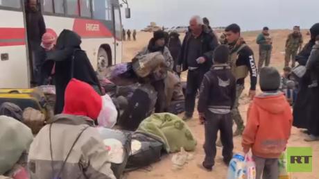 RT ترصد وضع عائلات مقاتلي داعش الفارين