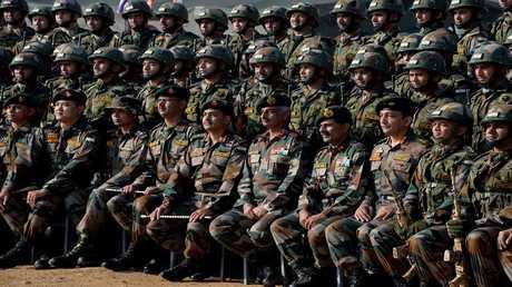 عناصر من الجيش الهندي- ارشيف